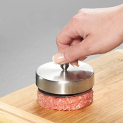 Stainless Steel Hamburger Patties Mould Maker Hand Operated Burger Press Kitchen Accessories Cooking Tools