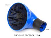 Professional 360 Degrees Rotating Diffuser/Volumizer Blue