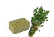 Natural Extra Virgin Olive Oil Soap Bar Thyme from Palestine Nablus Soap Natural For Dry Skin Care, Extra Gentle, Handmade 100ml
