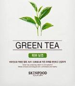 [Skin Food] Beauty in a Food Mask 20ml_Green Tea x 10 Sheets