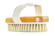 GranNaturals Hand Size Dry Body Brush - Skin and Face - . , Exfoliate Skin, Reduce Cellulite