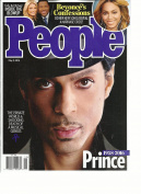 PEOPLE WEEKLY MAGAZINE, MAY, 09th 2016 PRINCE 1958 -- 2016