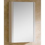 Fine Fixtures MOMC24WH Modern Modena Medicine Cabinet, 60cm , Off-White Grain