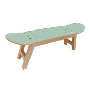 Skateboard Stool for the Best Bedroom for Skateboarder / Surfer Teen - Mint colour