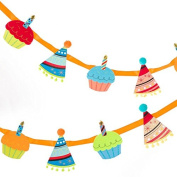 Papyrus Cupcake and Hats Banner