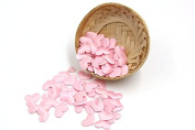 Pink Heart Fabric For Home Wedding Party Confetti 100 Pcs