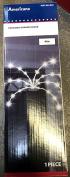 LightShow 28-Light LED White Fireworks Hanging Light Decor Set Battery Operated