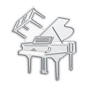 Katoot@ DIY Piano Craft Embossing Metal Cutting Dies Stencil for Scrapbooking Photo Album Decorative Paper Card Cutter