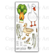 Hobby Art Clear Quackers Duck Stamps CS159D