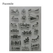 Clear Transparent Stamp DIY Scrapbooking/Card Making/Christmas Decoration Supplies K0160
