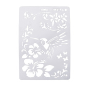 Layering Stencils DIY Mould Template for Album Scrapbooking Drawing Painting, by Best-topshop