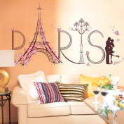 hleCKL 2017 Wall Stickers Romance Decoration Wall Poster Home Decor DIY