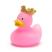 Mini King Rubber Duck pink | DUCKSHOP | Bathduck | L