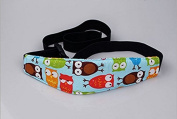 Pengmma Baby Carriages Seat Head Support Baby Sleeping Belt Blue Owl
