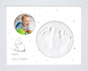 Baby Hand and Footprint Kit by Bubbleliss. Safe and Easy to Use. Ideal Baby Gift Present