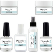SHEBA NAILS Dipcrylic Dipping Powder Duet Kit W/ Clear & Pink Dipping Powders