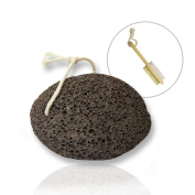 Feet Pumice Stone | Natural Pumice Stone for Fatigue Callus Dead Skin Remover and Massage Treatment | Non-Toxic Volcanic Stone for Skin Beauty and Health | Include Dual-Side Brush for Your Foot | 1266
