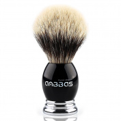 Anbbas Super Grade Badger Shave Brush,Resin & Alloy Design Handle for Man Grooming