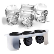 Katoot@ Silicone Skull Ice Moulds Cocktails Halloween Party Spooky Fun Bar Tool Bar Ice Cream Maker Model Tools Accessories Drop Shipping