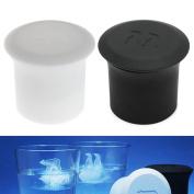 Kangnice 2Pcs Polar Bear Penguin Silicone Jelly Choc Ice Cube Mould Maker Mould
