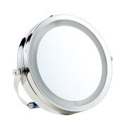 15cm Led Double-Sided Makeup Mirror Mirror 5X Magnification Mirror