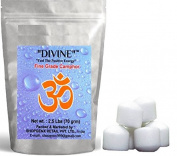 Puja Pure Refined Camphor 70gm Pack of 2 Round High Quality for Holy Spiritual Hindu Pooja Ganpati & Diwali Rituals