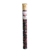 Bijos incense mixture in a 35 ml glass tube ROSE PETALS and BLOSSOMS- supports connexions, reconciliations and harmony