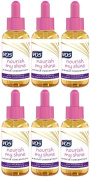 VO5 Nourish My Shine Miracle Concentrate (6 x 50ml) Elixir with Argan Oil