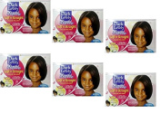 6x Soft 'n Straight Relaxer/Smoothing Cream Dark and Lovely Beautiful Beginnings Kids No Lye Relaxer Normal Hair