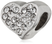 Belli Baci 925 Sterling Silver Charm Bead-Other - 314047