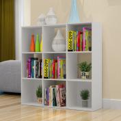Bestwoohome Cubeicals 9-Cube Organiser Storage Cabinet Bookcase