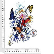 Star Butterfly FlowersWaterproof Flower Arm Temporary Tattoos Stickers Non Toxic Glitter