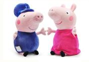 Love Peppa Pig Plush Toy 30cm -Grandpa & Grandma