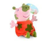 Love Peppa Pig Kids Mud Plush Toy 30cm -Muddy Peppa