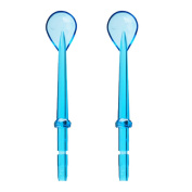 2pcs Oral Hygiene Cleaner Tongue Cleaning for waterpik WP-100 WP-450 WP-250 WP-300 WP-660 WP-900