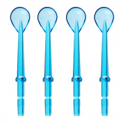 4pcs Oral Hygiene Cleaner Tongue Cleaning for waterpik WP-100 WP-450 WP-250 WP-300 WP-660 WP-900