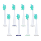 8pcs Toothbrush Heads for Philips Sonicare HX6500 HX6511 HX6530 HX9340 HX6950 HX6710 HX9140