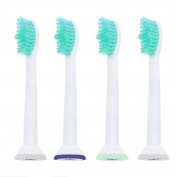 4pcs Toothbrush Heads for Philips Sonicare HX6500 HX6511 HX6530 HX9340 HX6950 HX6710 HX9140