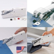 Armyshop Singer Portable Stitch Sew Hand Held Sewing Machine Quick Handy Cordless Repairs