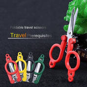 Stainless Steel Shears Sewing Foldable Tailor Scissor Embroidery Cross Stitch Scissors Tools easy to carry