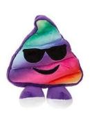 "Icons Soft Toy Emoticon - Poo Rainbow 20cm / 8"""