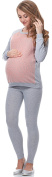 Be Mammy Women's Maternity Blouse with Nursing Function BE20-156