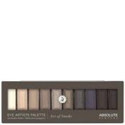 EYE ARTISTE Eyeshadow Palette by Absolute New York Smoke