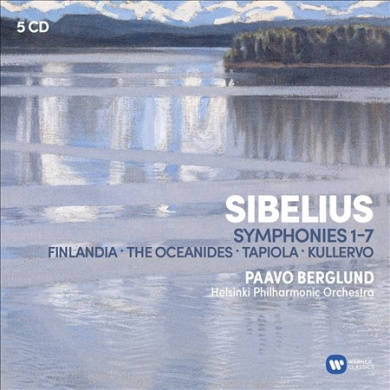 Sibelius: Symphonies 1-7; Finlandia; The Oceanides; Tapiola; Kullervo