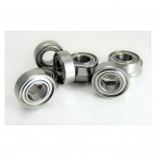 (10) 6x12x4mm Precision Stainless Steel Ball Bearing, Fishing Reels