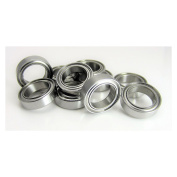 (10) 10x15x4mm Precision Stainless Steel Ball Bearing, Fishing Reels