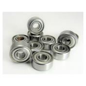 (10) 3/16x 1/2x 49/640cm (0.196) Precision Stainless Steel Ball Bearing, Fishing Reels