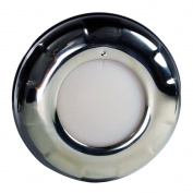 Lumitec Aurora Stainless Steel Dome Light - White Dimming & Red Dimming Lights