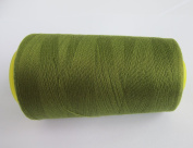 3000 Yards Army Green Reel 40s 2 402 Tex 27 Tickets Size 120 Spools Polyester PP SP Sewing Thread Hand Machine industrial Embroidery Yarn Quilting Serger Clothes