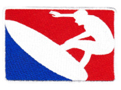 Vintage Style Major League Surfing Surfer Shirt Patch 10cm - Badge - Patches - 70's - 80's - Surfing - Surf - Surfboard - Beach
